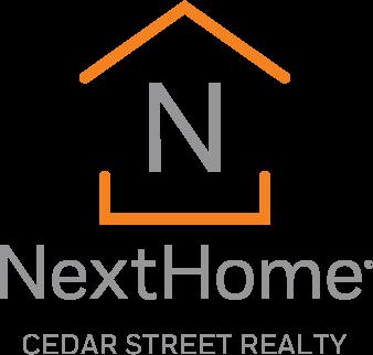 NextHome Cedar Street Realty - Vertical Logo